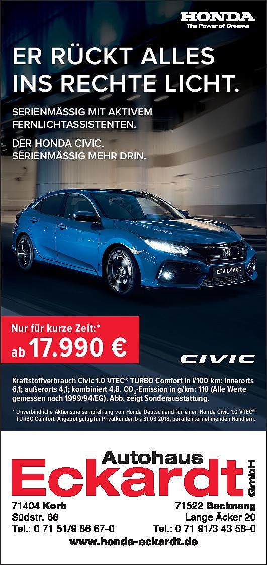 Angebote Autohaus Eckardt Gmbh Aus Korb Angebote